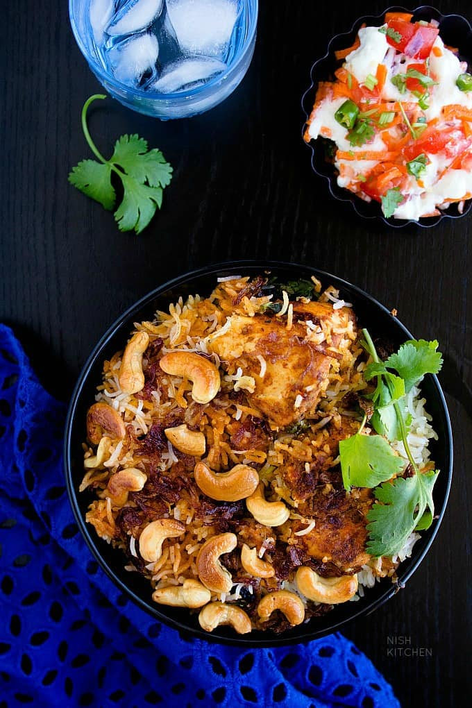 PSB delicious spiced butter chicken briyani