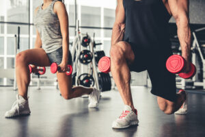 PSB Fitness weight loss training session