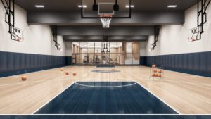 Basketball Court in Mississauga
