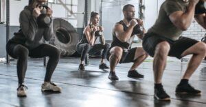 Intensive group weight training